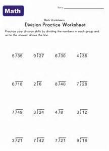 simple division worksheets kids learning station