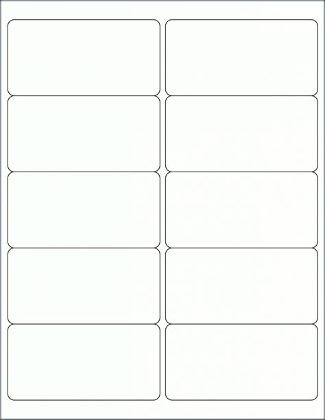 Free Printable Mailing Label Templates
