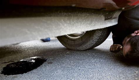 common vehicle fluid leaks