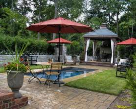 backyard cabana backyard pool and cabana