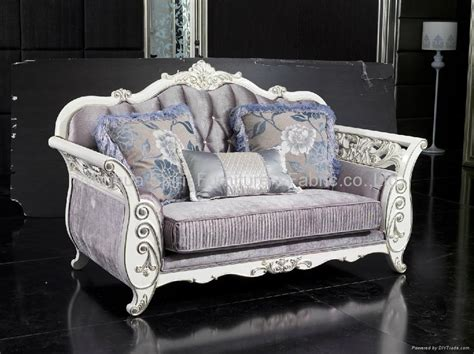 european style solid wood villa sofa fs1107 china