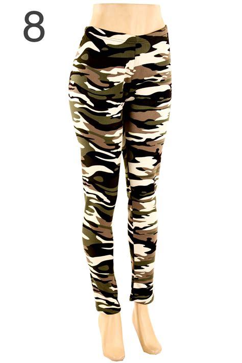 Legging Alissa Size Xl plus size fur lined print warm winter fleece fits size xl 2xl 3xl ebay