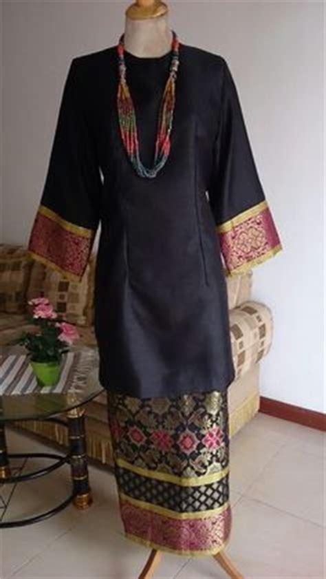 Kebaya Tunic Trendy 2 baju kurung moden kain songket fesyen trend terkini baju