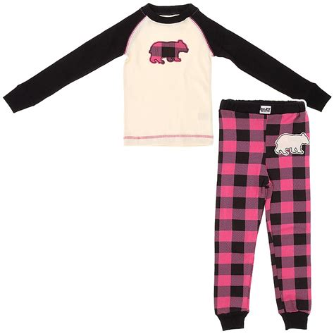 lazy on lazy one pink plaid cotton pajamas for