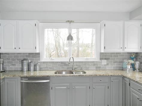 Kitchen Backsplash Colors Kitchen Subway Tile Colors Kitchen White