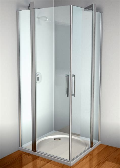 dusch kabinen rechteck duschkabinen bodamer kunststoffglas stegplatten