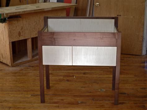 Walnut Changing Table Walnut Changing Table