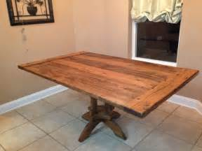 handmade kitchen table handmade kitchen table by vintage woodworks of navarre