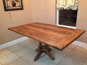 Handmade Kitchen Table Handmade Kitchen Table By Vintage Woodworks Of Navarre Custommade
