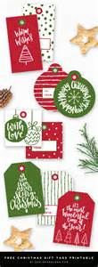 christmas gift tags printable designer blogs
