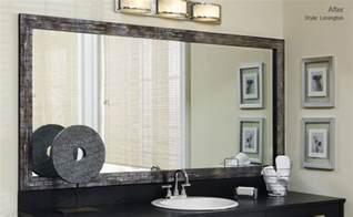 mirror frame kits for bathroom mirrors mirror frames for mirrors mirrormate frames