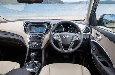 Hyundai Santa Fe Interior by 2016 Hyundai Santa Fe Series Ii On Sale In Australia From
