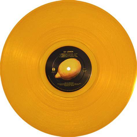 lemon u2 u2 lemon remixes colored vinyl