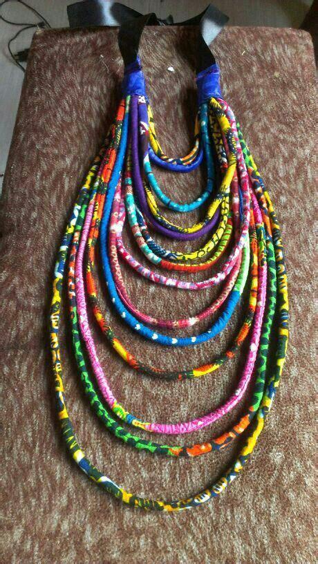 how to make ankara jewelry ankara necklace pretty things i like