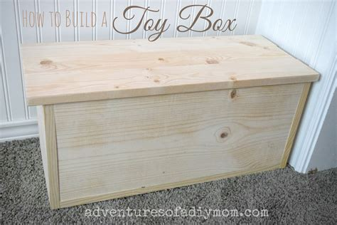 how to build a box how to build a toy box adventures of a diy mom