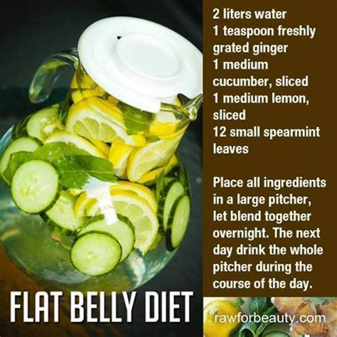Lemon Detox Recipe 2 Litres by Flat Belly Diet Drink 2 Liters Of Water 1 Teaspoon