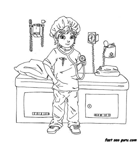 woman doctor coloring page woman doctor coloring pages coloring home