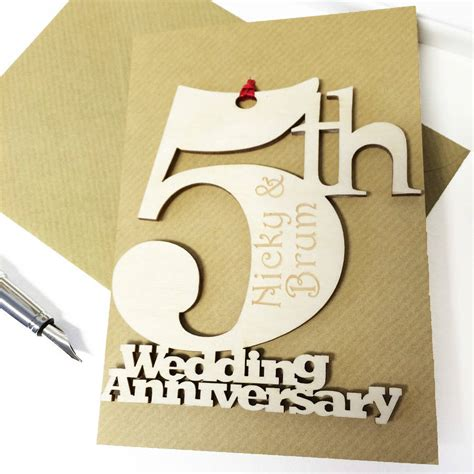 Wedding Anniversary Cards Personalised by Personalised Wedding Anniversary Card By Hickory Dickory