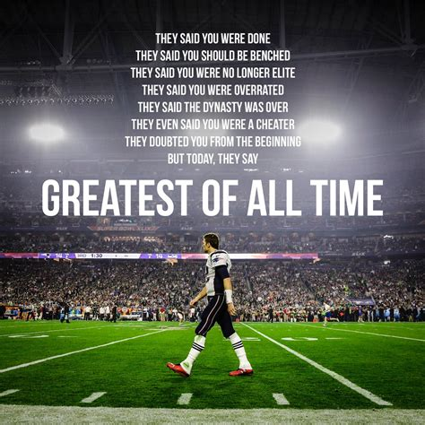The Best Of All Time - on quot all hail the goat tb12 tom brady