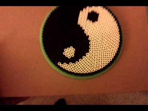 how to make Yin Yang Perler bead   YouTube