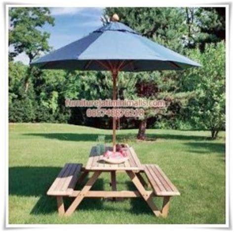 desain meja taman meja taman payung meja taman dari kayu meja taman kayu