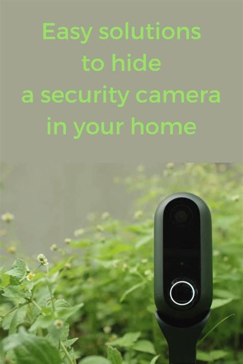how to hide a how to hide a security effectively smart home solver