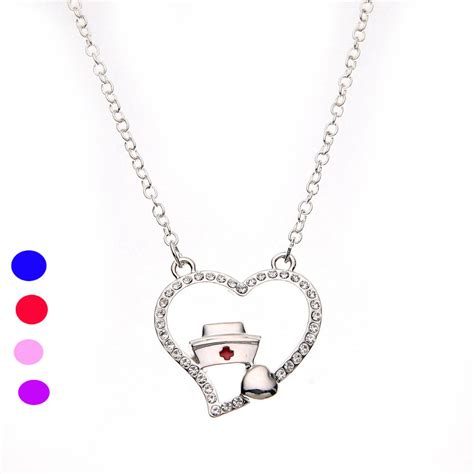 lpn rn registered necklace pendant jewelry
