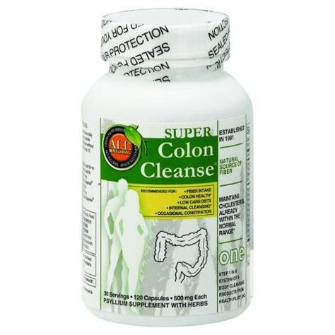 Poor Colon Detox by Health Plus Colon Cleanse With Herbs Capsules 120