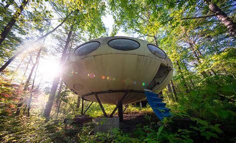 fancy owning  ufo shaped home check  rare futuro