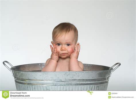 sitting bathtub for babies tub baby royalty free stock images image 2263959