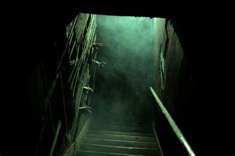 the basement haunted house stuntman redefines the haunted house prlog