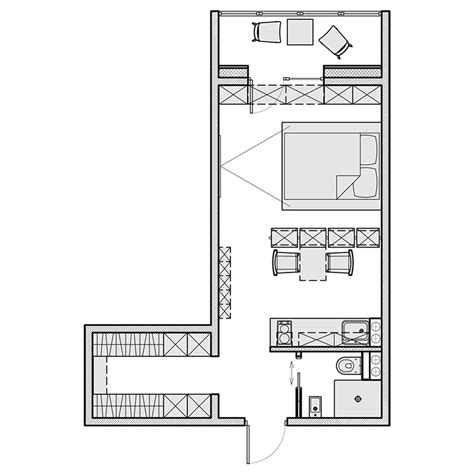 home design for 550 sqft 3 apartamentos pequenos para voc 234 se inspirar limaonagua