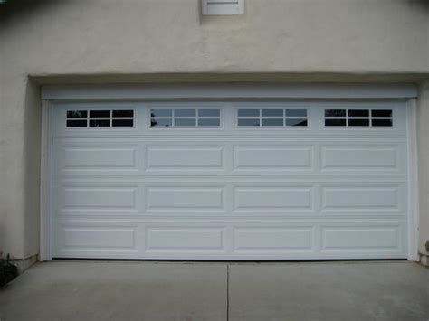 Garage Door Panel With Windows American Empire Door Garage Door Installation And Repair Gallery