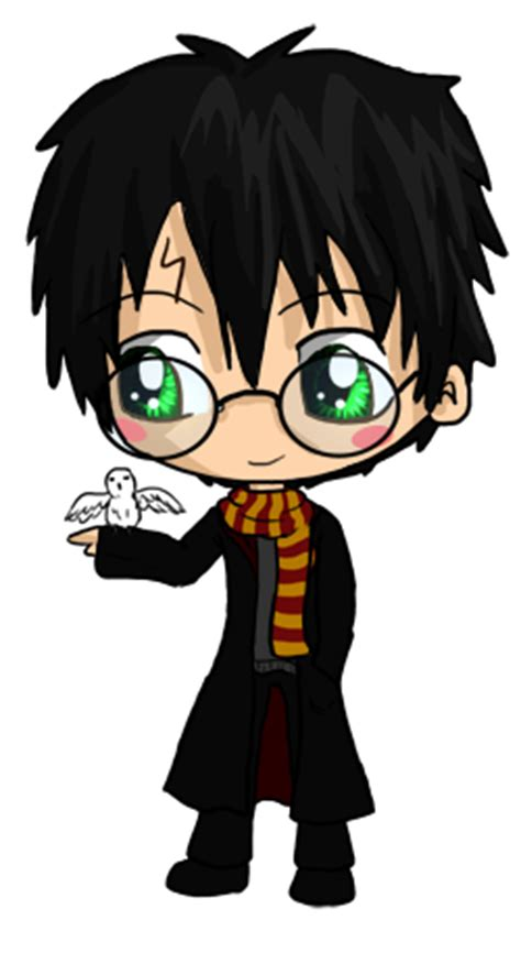 harry potter chibi by icypanther1 on deviantart