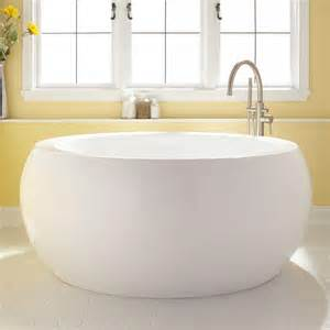 best bathtubs for soaking 61 quot arturi round acrylic soaking tub ebay