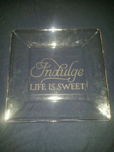 glass etched cookie plate vinyl projects glass etching - Etched Vinyl Projects