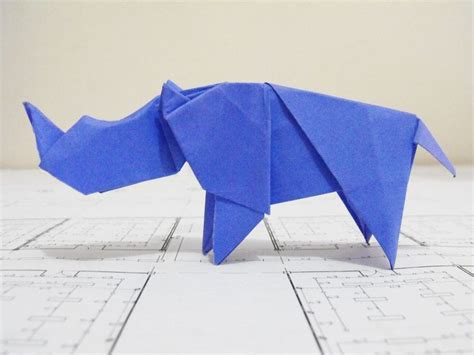 Rhino Origami - 1000 images about rhinos on