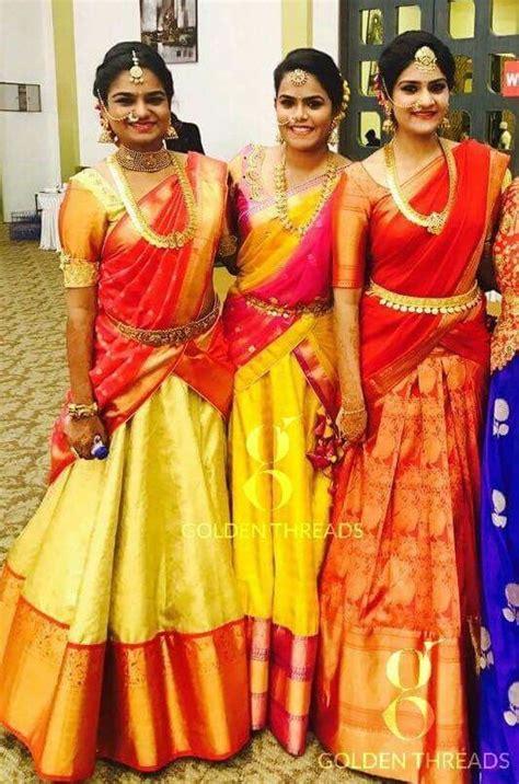 how to drape a saree like a lehenga half saree styles 7 ways to wear half saree with lehenga