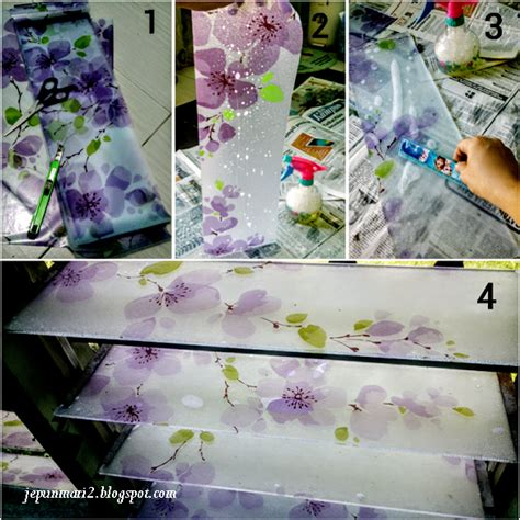 Cermin Nako tutorial glass sticker cermin nako pun boleh buat jepun