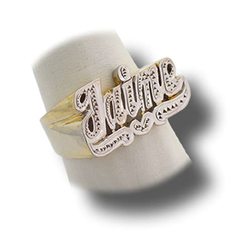 name ring with