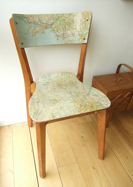 Decoupage Chair - decoupage chair diy inspiration
