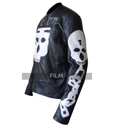 motor leather jacket icon motorhead skull motorcycle leather jacket