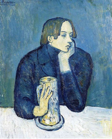 picasso paintings blue anjas theme of the week picasso week 2 the blue period