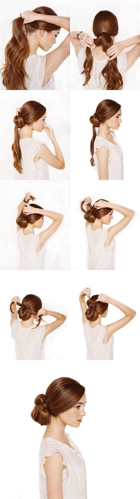 Wedding Hairstyles For Hair Step By Step by Knotted Chignon Wedding Hair Tutorial Once Wed