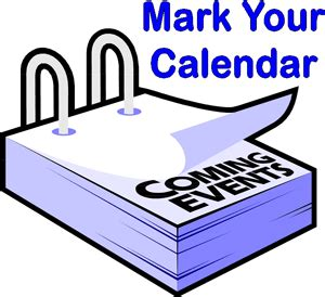 Mark your calendar pfeiffer intermediate school