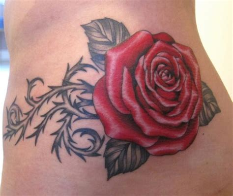 rose with thorns tattoo tattoos with thorns designs for desktop