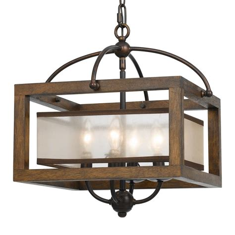 square semi flush mount lighting square wood frame and sheer ceiling light semi flush