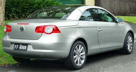 2011 volkswagen eos lux sulev convertible 2 0l turbo automated manual