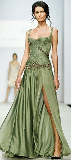 Dress Valen Flow best 25 green evening gowns ideas only on