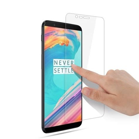 Tempered Glass Oneplus 5 5t Back Pro naxtop tempered glass screen protector for oneplus 5t transparent 2 pcs free shipping